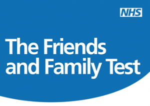 Is anyone doing great stuff with the patient comments in the NHS Friend and Family test?